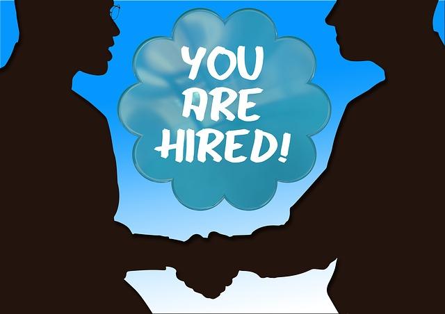 Grafik zu Jobbewerber einstellen
