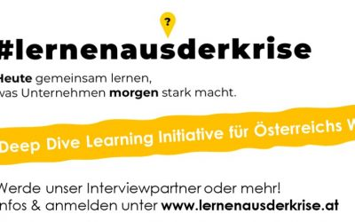 "Mitarbeit bei Initiative ""#lernenausderkrise"""